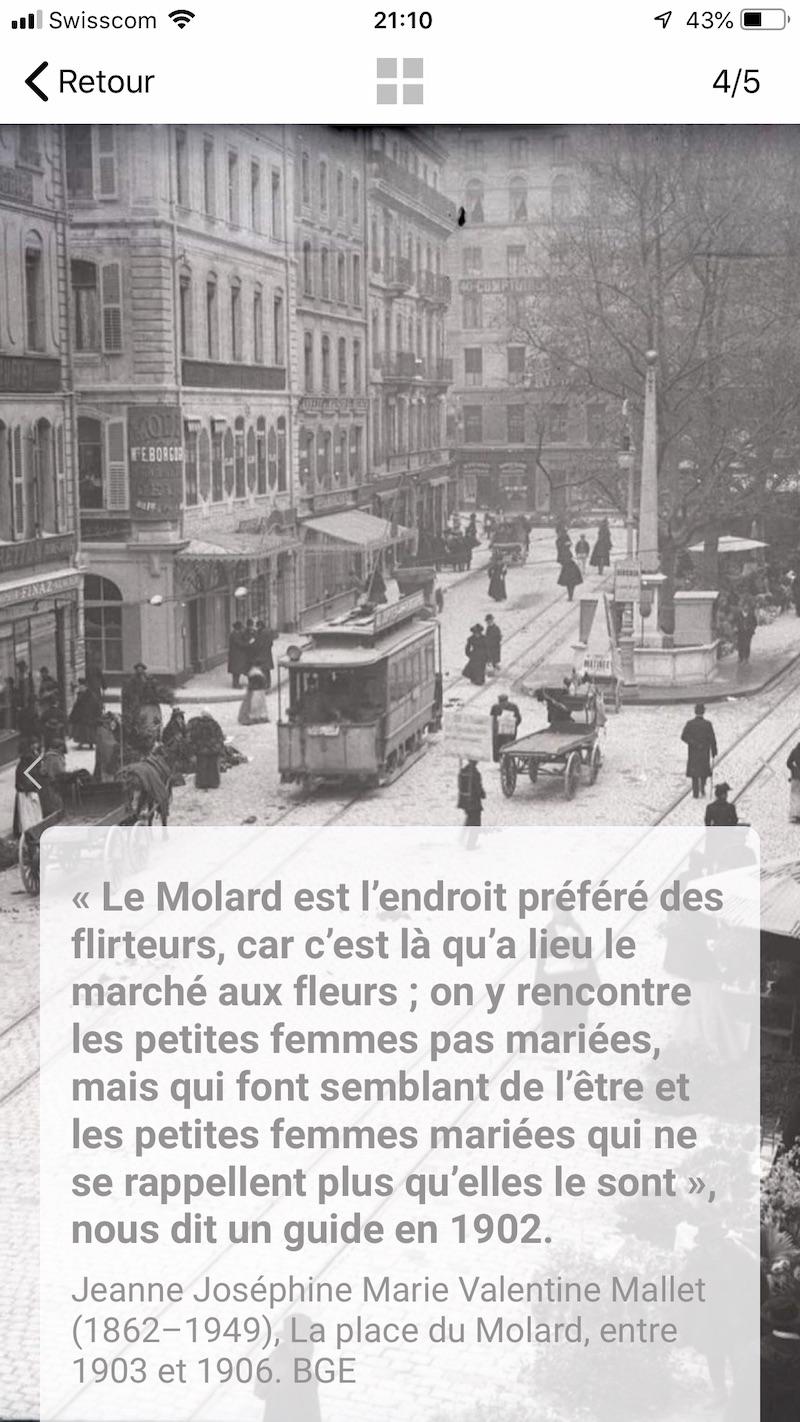 Le molard en 1902